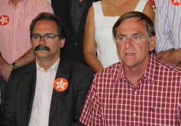 Antônio e Otoni Gomide: disputa em família pelo comando PT
