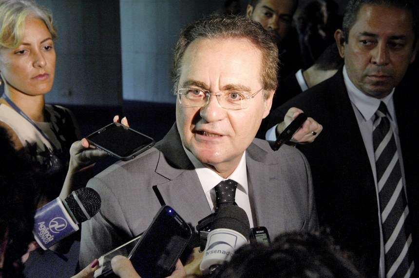 Renan critica Temer e o responsabiliza por divisão no PMDB