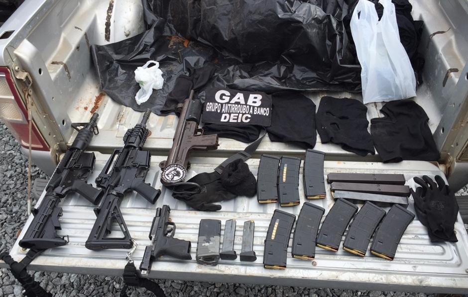 Polícia apreende armas de grosso calibre em Aparecida de Goiânia