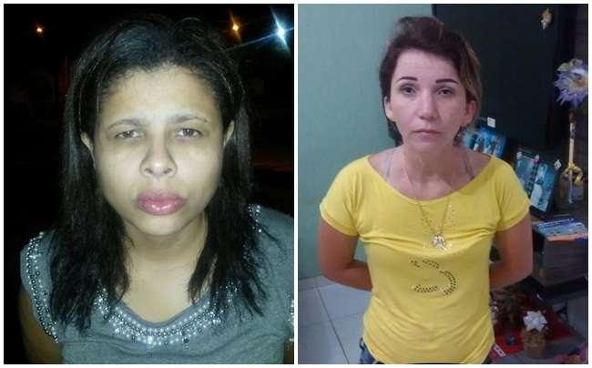 Duas mulheres são presas com cocaína e material de refino da droga