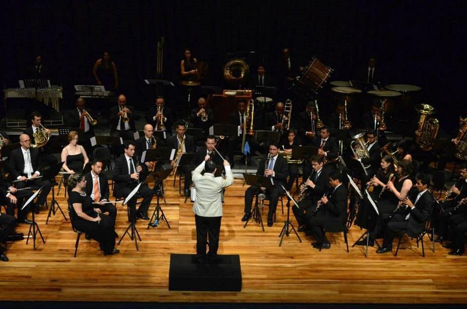 Banda Sinfônica de Goiás toca no Sesc Centro