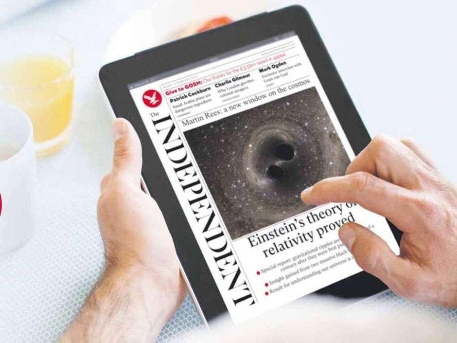 Jornal britânico The Independent diz adeus à edição impressa