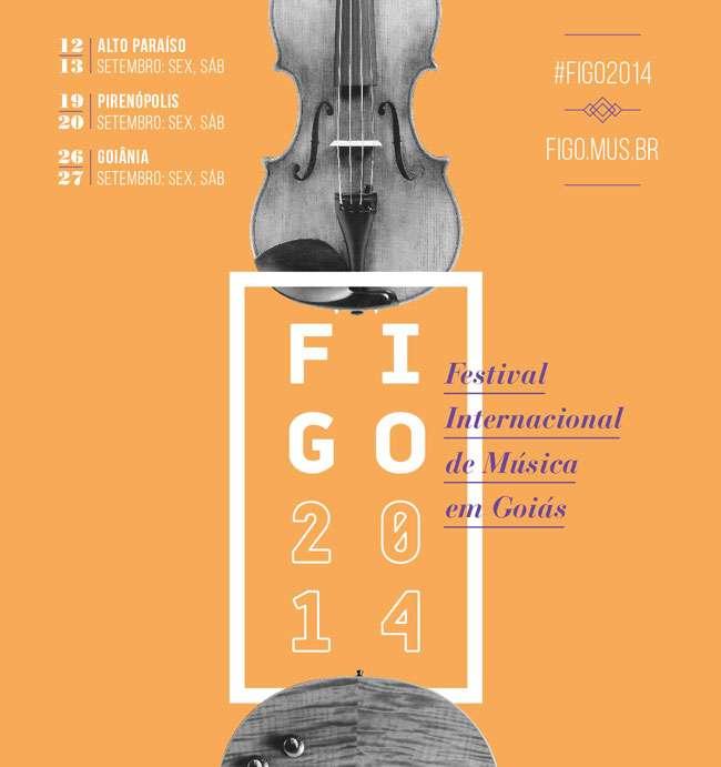Figo 2014 terá apresentações em Goiânia, Pirenópolis e Alto Paraíso