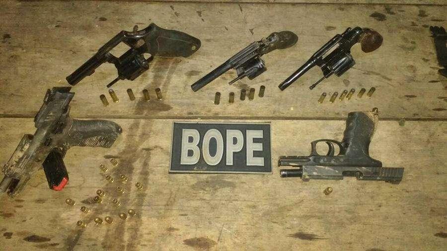 Três suspeitos são mortos em confronto com o Bope, em Aparecida de Goiânia