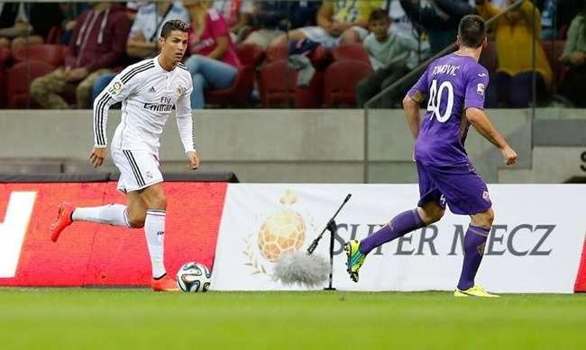 Com Ronaldo e Dí Maria, Real Madrid perde amistoso
