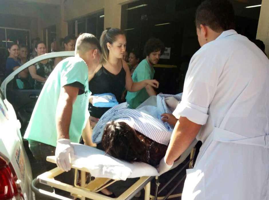 Mulher dá a luz em táxi na frente do Hospital Santa Casa, em Goiânia