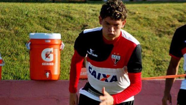 Atlético: Lesionado, Júnior Viçosa deve voltar apenas no fim da Série B