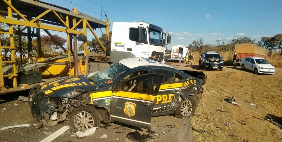 Policial Rodoviário morre em acidente na BR-050