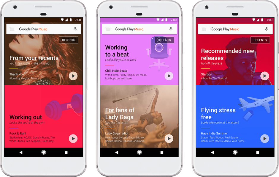 Google Play Music ganha atualização