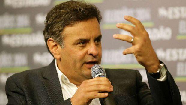 Aécio diz que Petrobras virou 'organização criminosa'