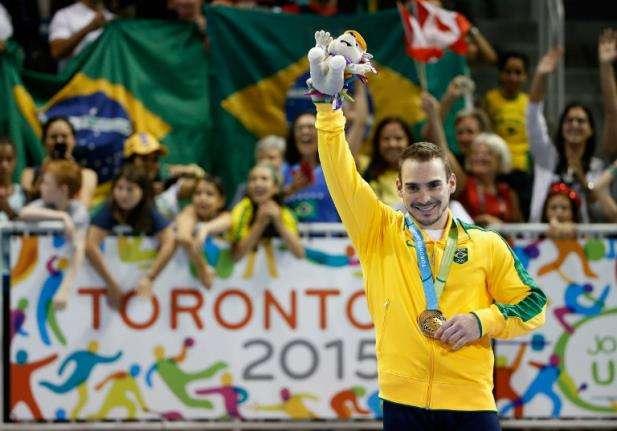Zanetti conquista ouro inédito nas argolas em Toronto