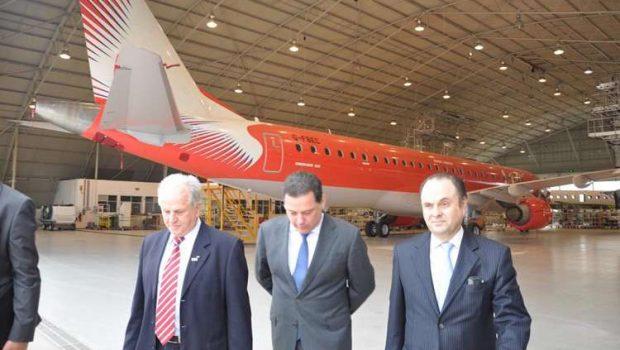 Governador tenta atrair filial de indústria aeronáutica para Anápolis