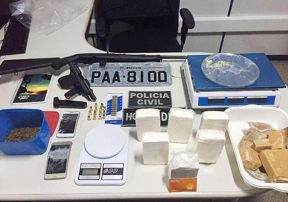 PC desencadeia operações contra o tráfico de drogas e roubo de veículos