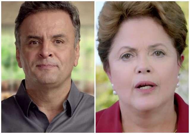 Dilma tem 53% das intenções de votos válidos e  Aécio, 47%, diz Datafolha