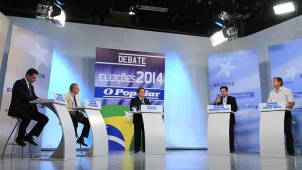 """""""Eu não minto para o eleitor"""", diz Gomide durante debate do O Popular"""