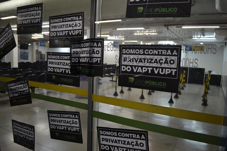 Sindicato inicia campanha contra o processo de implementação de PPPs nos Vapt-Vupts