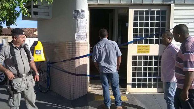 Bandidos invadem agência bancária em Faina, arrombam cofre e levam dinheiro