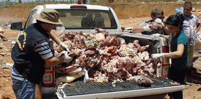Operação da Agrodefesa apreende cerca de 2 toneladas de carne clandestina em Silvânia