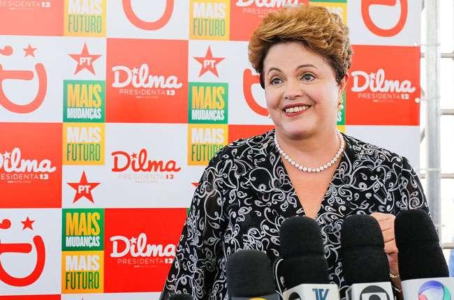 Dilma: Eleitor não pode correr risco de mudar o que está dando certo