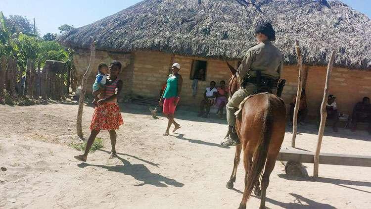 PM desempenha projeto especial em comunidade quilombola neste domingo