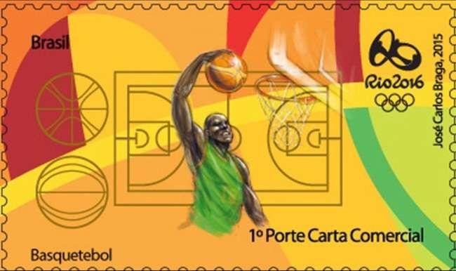 Correios lançam selos comemorativos da Rio-2016