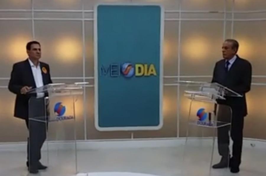 Candidatos a prefeito de Goiânia voltam a trocar acusações no debate da TV Serra Dourada