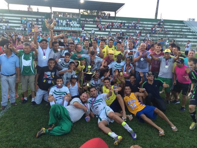Itaberaí conquista título inédito na Terceira Divisão do Goiano