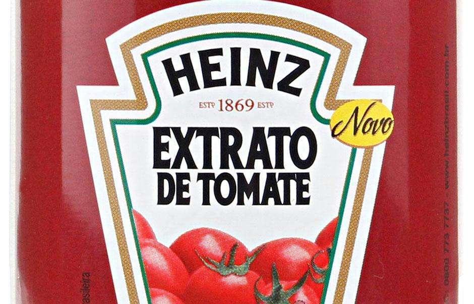 Anvisa proíbe venda de extrato de tomate Heinz encontrado com pelo de roedor