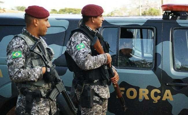 Força Nacional ficará em Goiás por mais 180 dias