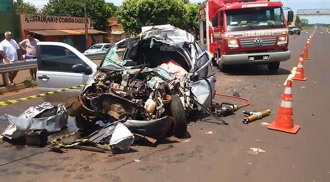 Homem morre em acidente na BR-060