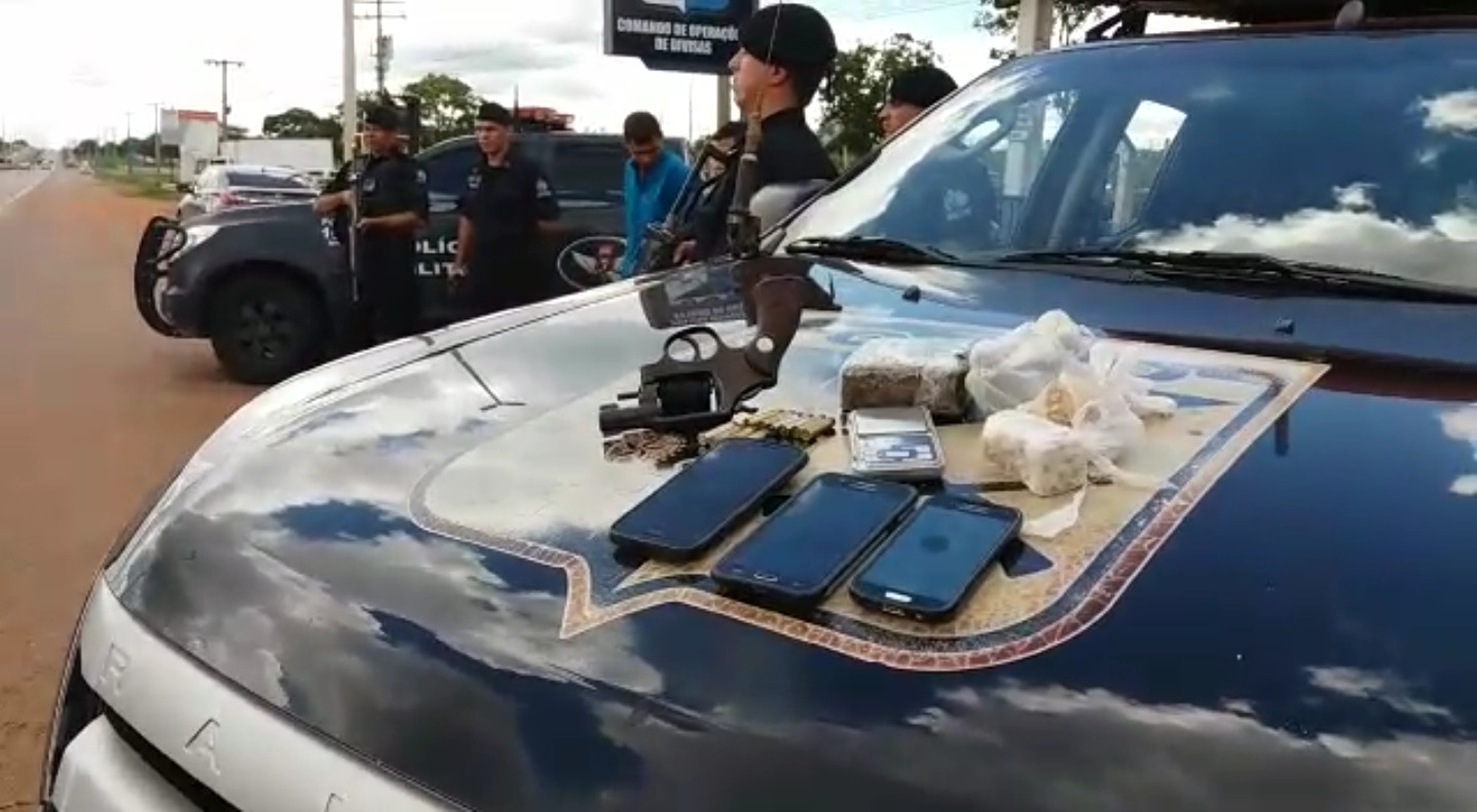 Dupla é presa logo depois de roubar moto no Jardim Petrópolis, em Goiânia