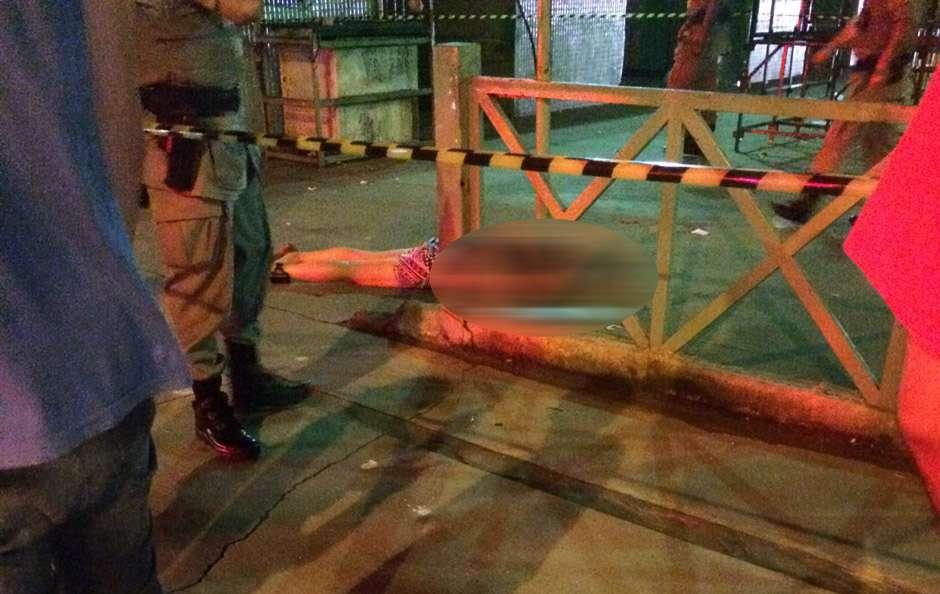Mulher é morta a tiros no Mercado Aberto da Avenida Paranaíba