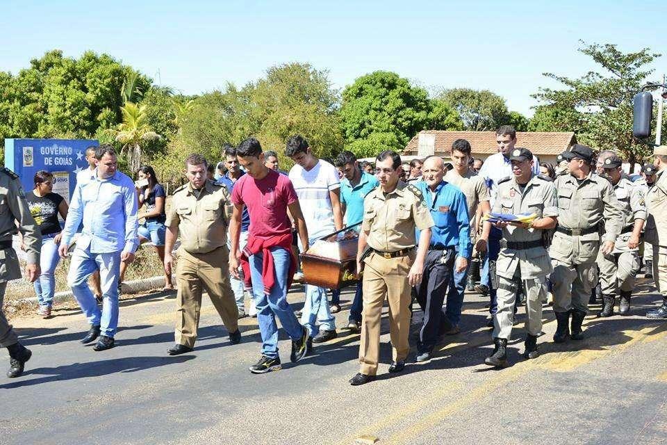 Policial militar morto durante ocorrência em Itacaiu é sepultado em Jussara