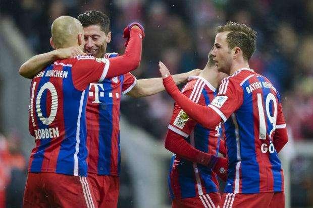 Bayern de Munique comemora aniversário com goleada sobre Colônia