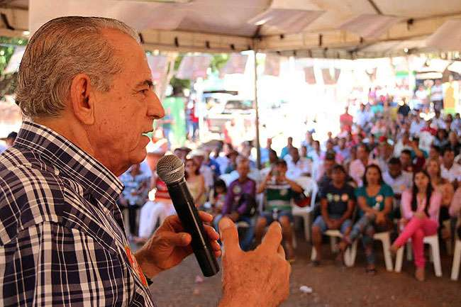 Iris Rezende  diz que sua primeira obra será  asfalto em Bonópolis
