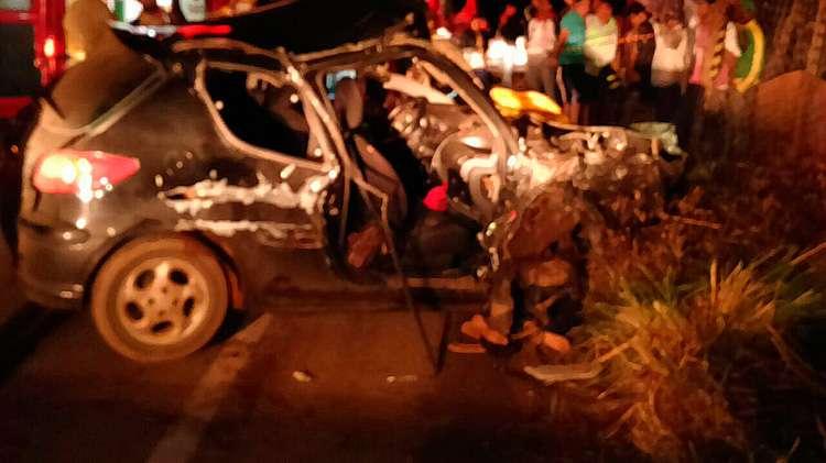 Mulher morre em acidente na GO-222