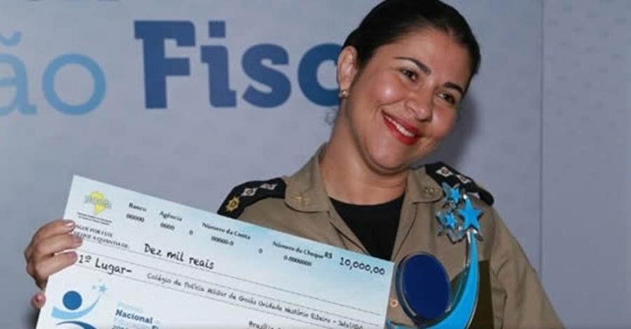 Colégio Militar de Jataí ganha prêmio nacional de Educação Fiscal