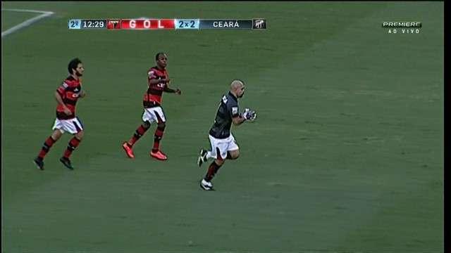 Atlético-GO derrota Ceará e fica a oito pontos do G-4 da Série B