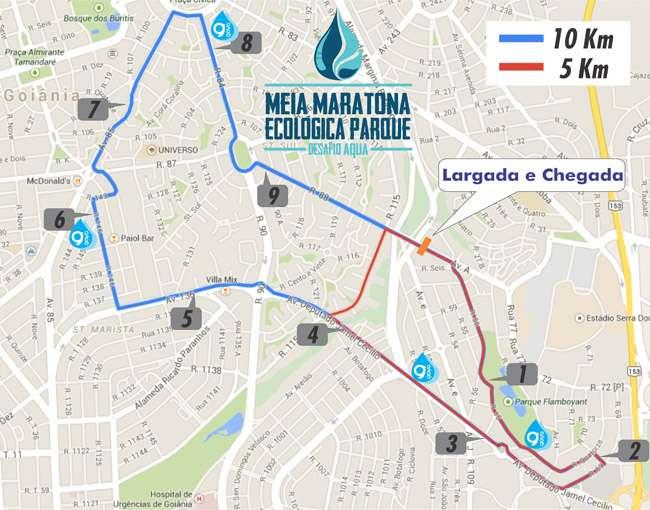 Goiânia recebe mais uma edição da Meia Maratona Ecológica Parque