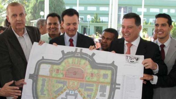 Assinada ordem de serviço para revitalização da Praça Cívica