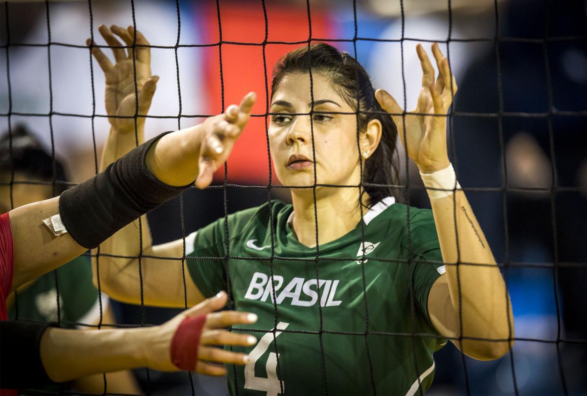 Goiana será uma das representantes do Brasil no Vôlei Sentado nas Paralimpíadas