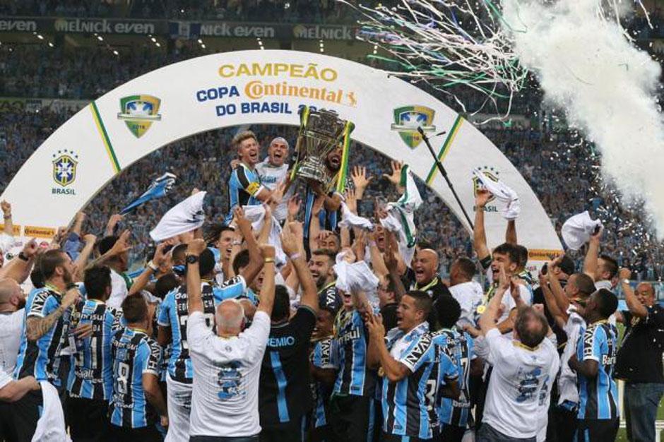 Grêmio empata com o Atlético-MG e se torna o maior campeão da Copa do Brasil