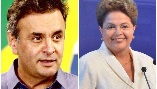 Aécio tem 53,2% contra 46,8% de Dilma, mostra pesquisa do instituto Veritá