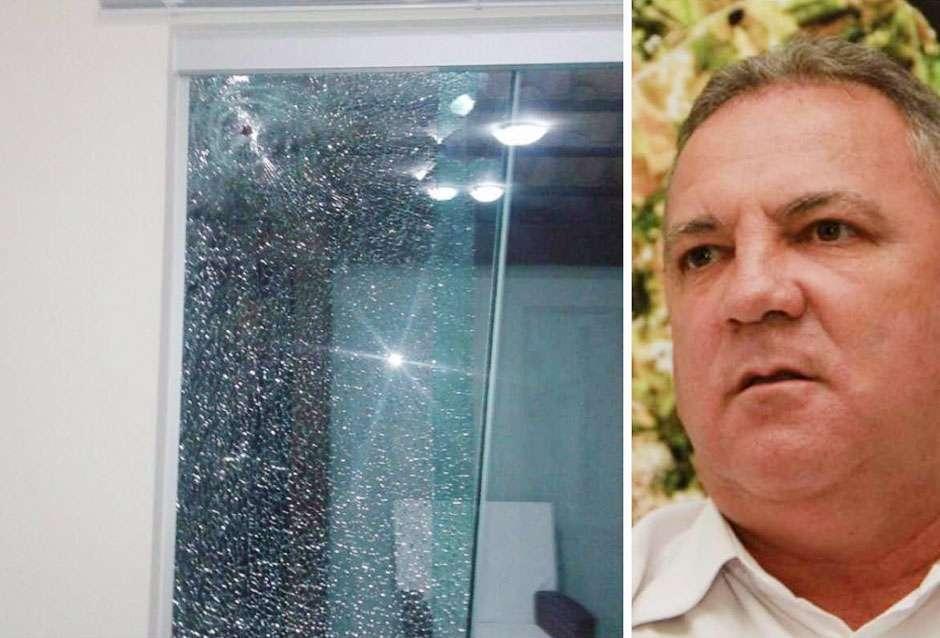 Prefeito de Senador Canedo sofre atentado em casa