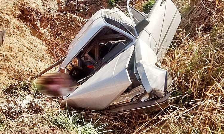 Dois idosos morrem em capotamento na BR-413, próximo a Niquelândia
