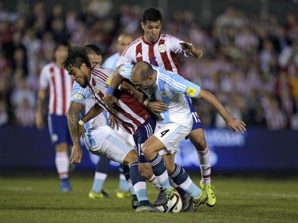 Argentina fica no zero contra Paraguai e segue sem vencer nas Eliminatórias