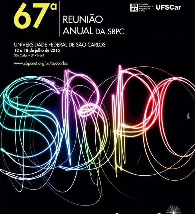 Aluno da rede estadual participa da SBPC em São Paulo