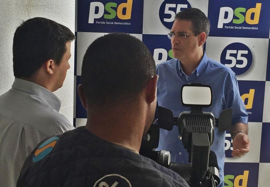 Francisco Jr diz que ainda não definiu quem vai apoiar no segundo turno
