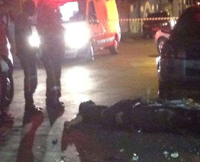 Homem é morto após tentativa frustrada de assalto a um policial militar no Centro