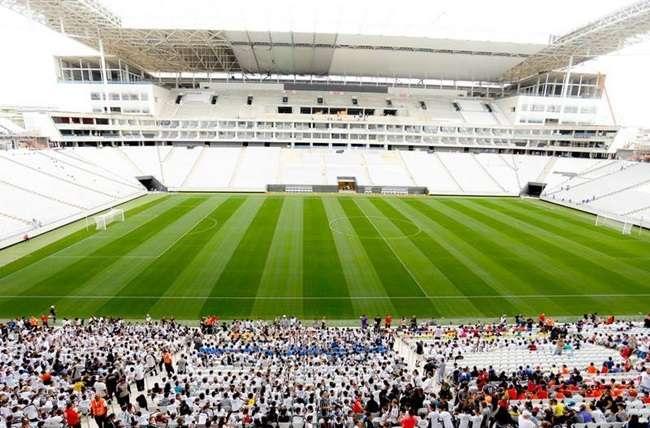Corinthians tem maior ocupação nos estádios do Brasil